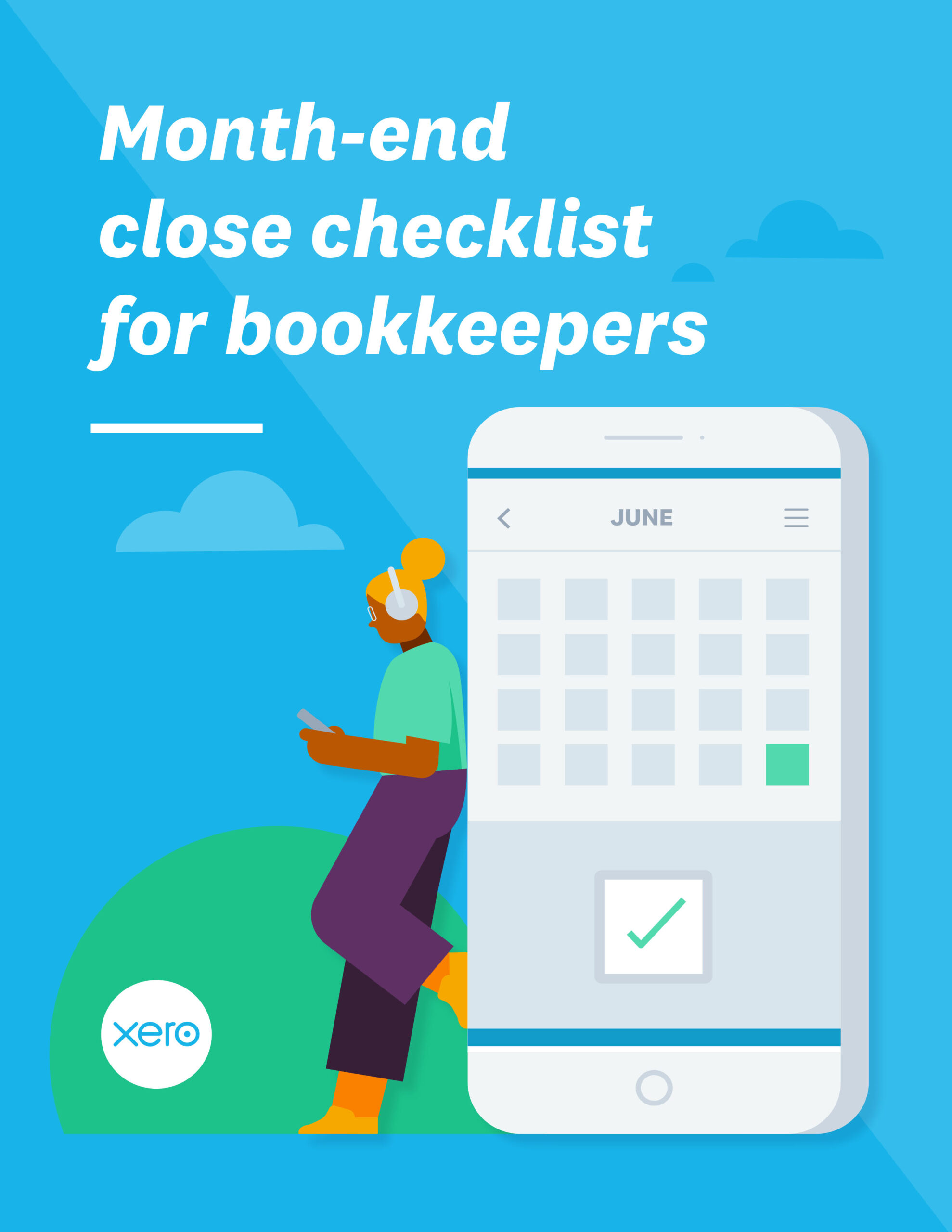 Month-end checklist for bookkeepers