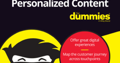 Delivering Personalized Content For Dummies