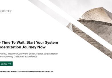 No time to wait: Start your system modernization journey now