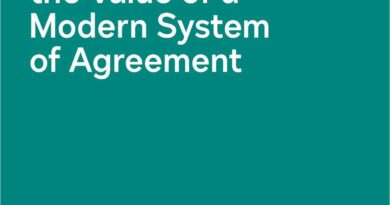 Recalculating the Value of a Modern System of Agreement