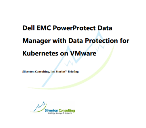 Dell EMC PowerProtect Data Manager with Data Protection for Kubernetes on VMware