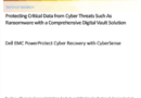 ESG Technical Validation: Protecting Critical Data from Cyber Threats