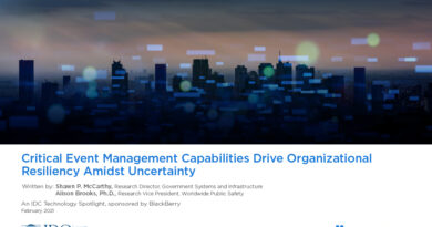 Critical Event Management Capabilities Drive Organizational Resiliency Amidst Uncertainty