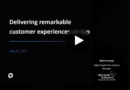 Delivering remarkable customer experiences on tap
