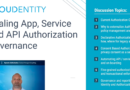 Scaling App, Service and API Authorization Governance Webinar