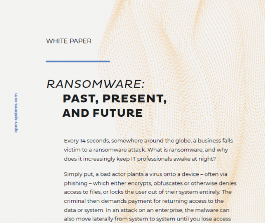 Ransomware: Past, Present, And Future